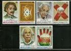 """Aitutaki       """"Albert Einstein""""      Set  (3 Pair)     SC# 186-91  MNH** - Aitutaki"""