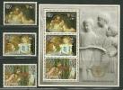 """Aitutaki        """"Intl. Youth Year""""      Set  & Souvenir Sheet    SC# 378-81  MNH**  SCV$ 21.75 - Aitutaki"""