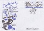 Norfolk Island-2000 Festivals FDC - Norfolk Island