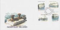 Norfolk Island-2001 Calm Waters Set FDC - Norfolk Island