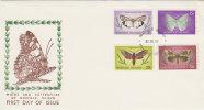 Norfolk Island 1977 Feb Butterrflies  FDC - Norfolk Island