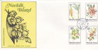 Norfolk Island 1984 Flora Dated 27 Mar  FDC 1 - Norfolk Island