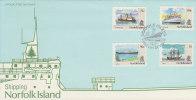 Norfolk Island 1991 Ships Dated 13 August FDC - Norfolk Island
