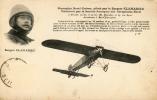 Monoplan Borel Gnôme, Piloté Par Le Sergent Clamadieu - Aviateurs