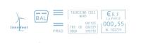 Renouvelable, Vent, éolienne, Environnement , Tourcoing - EMA Havas - Enveloppe Entière  (J002) - Altri