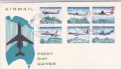 Papua New Guinea-1970 Air Services FDC - Papouasie-Nouvelle-Guinée