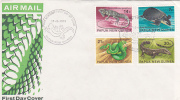 Papua New Guinea-1972 Reptiles FDC - Papua New Guinea