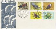 Papua New Guinea-1977 Protected Birds FDC - Papua New Guinea