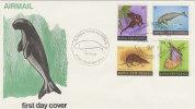 Papua New Guinea-1980  Mammals FDC - Papouasie-Nouvelle-Guinée