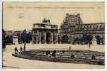 PARIS 6ème--1925--Les Nouveaux Jardins à La Française De La Place Du Carrousel (petite Animation) N° 1446  éd J.H - Arrondissement: 06