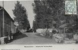 Marne- Warmériville -Avenue Du Val Des Bois, Carte Photo. - Other Municipalities