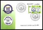 Egypt 2004 - FDC ( FIFA - ( F'ed'eration Internationale De Football Association ), Cent. ) - MNH - Zonder Classificatie