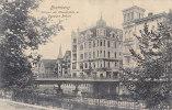 Bromberg / Bydgoszcz - Anlagen Am Theaterplatz M.Danziger Brucke 1909 - Polen
