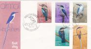 Papua New Guinea-1981 Birds FDC - Papoea-Nieuw-Guinea