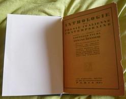 Anthologie De La Poésie Italienne Contemporaine - Poésie