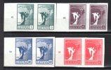 LITUANIE - 1990 - N° 390 / 393  X2  ** - Lituania