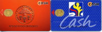 C.1995 SWEDEN  2 CASH Bankcards Sparbanken +ForeningsSparbanken - Carte Di Credito (scadenza Min. 10 Anni)