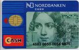 C.1995 SWEDEN  CASH Bankcard Nordbanken - Krediet Kaarten (vervaldatum Min. 10 Jaar)