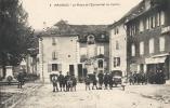 Lozère- Gorges Du Tarn - Ispagnac,La Place Et L'Economat Du Centre. - Gorges Du Tarn