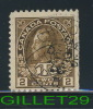 CANADA STAMP - WAR TAX STAMPS - No MR4, 0.02 + 0,011 Cents, BBROWN, 1916 - USED - - Used Stamps