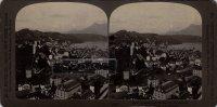 Suisse - LU Lucerne. - Photo Originale 1907. - Format : 17,8 Cm Environ Par 8,9Cm Env. (Voir Scan Recto-verso). - LU Lucerne
