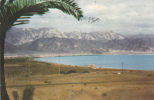 CPA ELIAT - BAY OF ELIAT VIEW TO AKABA,1959 SENT TO ROMANIA. - Israel
