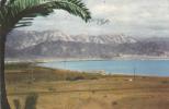 CPA ELIAT - BAY OF ELIAT VIEW TO AKABA,1959 SENT TO ROMANIA. - Israele
