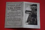 1934 Calendrier De Petit Format Réclame Et Objet Publicité : Maison Rochefort Faubourg Saint-Martin Paris-X : Dijon Pala - Klein Formaat: 1921-40