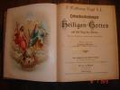 Mythologie Des Dieux Et Des Martyrs,Matthhaüs Vogel, Préface Ludwig Mehler,,caractères Gothiques 20X25,4,830 Pages - Christianisme
