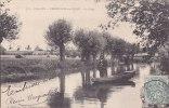 ¤¤    -   227   -   CHATILLON-sur-SEINE   -  La Seine  -  Bateau , Barque , Plate , Chaland   -  ¤¤ - Chatillon Sur Seine