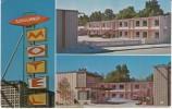 Caldwell ID Idaho,  Sundowner Motel, Lodging, Auto, Great Sign, C1960s/70s Vintage Postcard - Caldwell