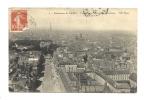 Cp, 75, Paris, Panorama, Vue Prise à L'OUest Du Panthéon, Voyagée 1912 - Frankrijk