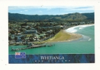 Cp, Nouvelle-Zélande, Coromandel, Whitianga And Buffalo Beach From Whitianga Rock, Voyagée - Nouvelle-Zélande