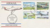 Papua New Guinea-1987 AirPlanes  FDC - Papua New Guinea