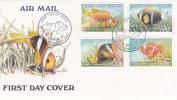 Papua New Guinea-1987 Fish FDC - Papoea-Nieuw-Guinea