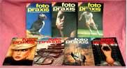 7 Zeitschriften FOTO PRAXIS Heft 30 Bis 36 , Der Kreative Weg Zum Besseren Foto , Von 1981- 1982 - Hobbies & Collections