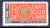 Peru C 293   *  ROTARY CLUB - Peru