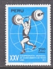 Peru C 327   *  SPORTS  WEIGHT LIFTING - Weightlifting