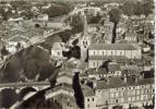 CPSM SAINT GIRONS (Ariège) - En Avion Au Dessus De.....vue Générale - Saint Girons