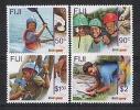 FIJI - 2007 - Cent Du Scoutisme - 4v NEUF *** //  MNH - Fiji (1970-...)