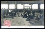 Carte / Photo.  PARIS. Évènements Du 1er. Mai 1906. Cantonnements Des Troupes Dans La Galerie Des Machines. - Manifestations