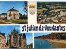 CPSM 44 ST JULIEN DE VOUVANTES 1978 Multi Vues - Saint Julien De Vouvantes