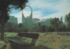 19745 LA GRANDE MOTTE  (france)- L'Eglise Saint Augustin . Inaugurée 1976 Quartier Ponant. Photo Plové - Eglises Et Couvents