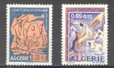 (S0061) ALGERIA, 1969 (Flood Victims Fund). Complete Set. Mi ## 535-536. MNH** - Algérie (1962-...)