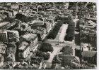 CPSM 63 CLERMONT FERRAND VUE AERIENNE DE LA PLACE DE JAUDE 1954 - Clermont Ferrand