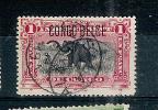 N°36L  Obl., Sujet: éléphant - Belgian Congo