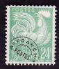 FRANCE  -  Preo   N°  114 -  Coq Gaulois  24c Vert   -  Nsg   - Cote 6e - 1953-1960