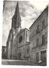 Caussade (82) :  L'église ND Et La Rue Adjacente En 1950  PHOTO VERITABLE. - Caussade