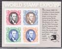 US 2433      **  WORLD STAMP EXPO. - United States