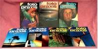 7 Zeitschriften FOTO PRAXIS Heft 37 Bis 43 , Der Kreative Weg Zum Besseren Foto , Von 1981- 1982 - Hobbies & Collections